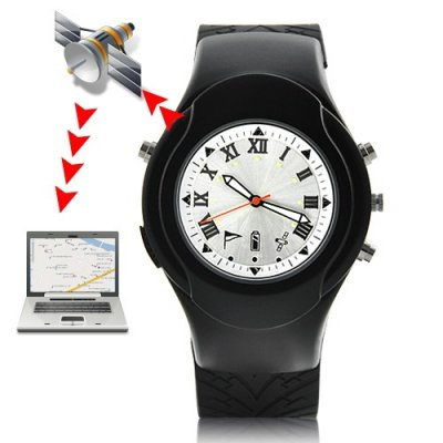 4-in-1 Watch GPS Receiver Devices with Location Finder + GPS Logger + 65 Channel